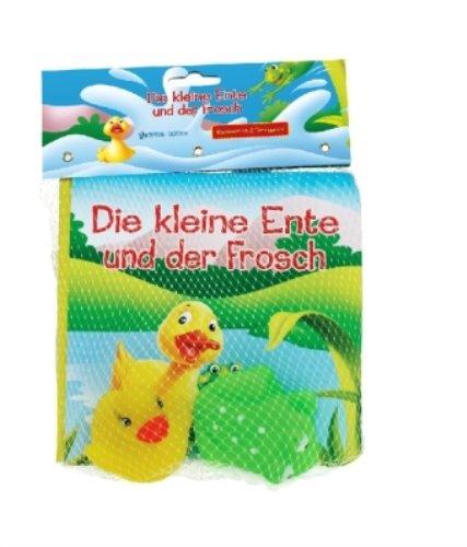 Badebuch-mit-Figuren-DIE-KLEINE-ENTE-UND-DER-FROSCH-0