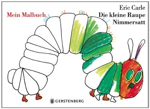 Malbuch Raupe Nimmersatt