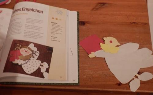 Weihnachtsbastelbuch Engel