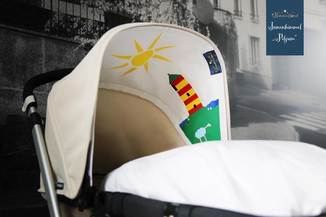Nimmerland Kinderwagen Verdeck