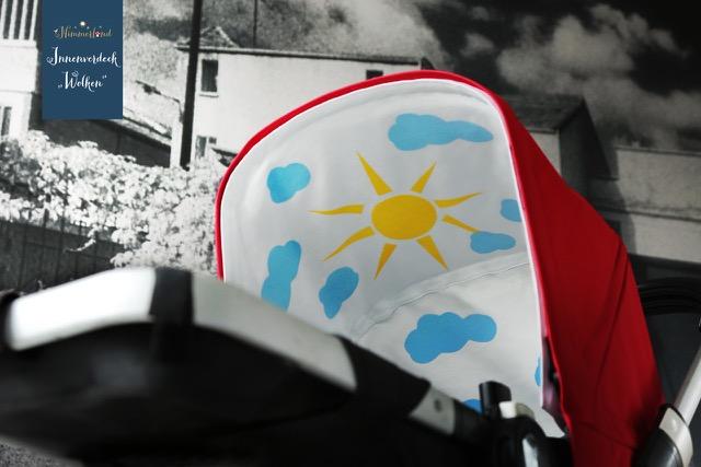 Nimmerland Kinderwagenverdeck