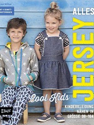 Alles-Jersey--Cool-Kids-Kinderkleidung-nhen-Alle-Modelle-in-Gre-98164--Mit-4-Schnittmusterbogen-0